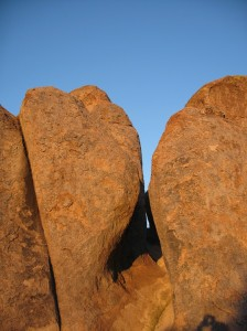 City of Rocks is about a 2 hour drive to the south and west from T or C.