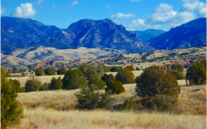 The largest national forest in the US, the Gila National Forest is located about two hours to the west.